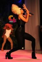 Nicki Minaj Performing At The 2011 Green Auction