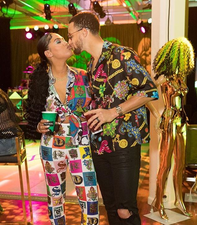GET IT! Ayesha Curry Grinds Up On Hubby Steph Curry At Her