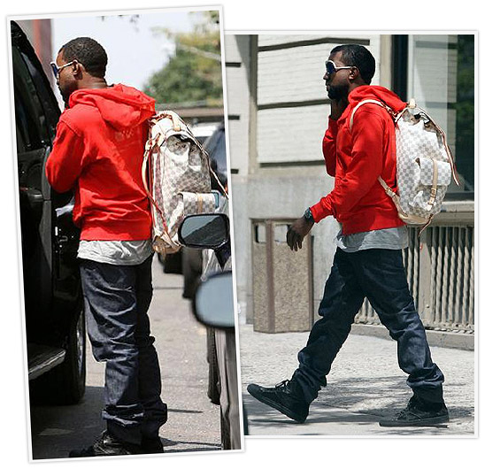 kanye west louis vuitton fashion style