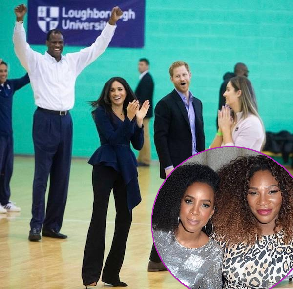 The Duke & Duchess Of Sussex Play Ball & Spark Pregnancy