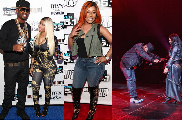 K Michelle And Meek Mill Meek Mill brought out