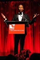 Pharrell Williams speaking