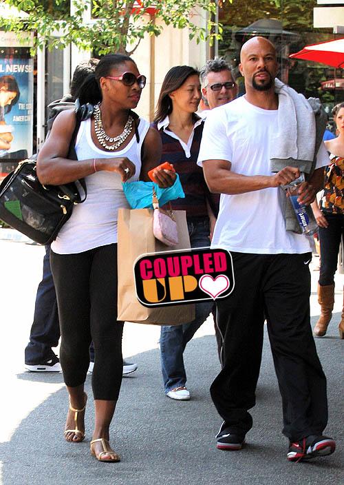 Rapper Common And Serena Williams